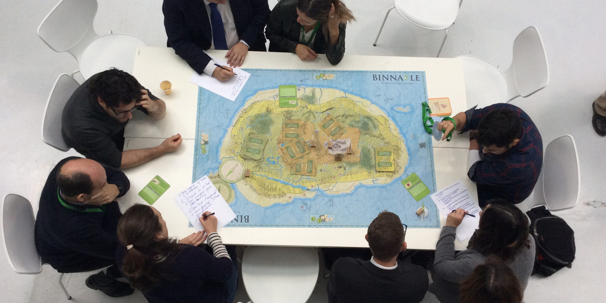 Desayuno-demo de Binnakle, el juego que ayuda a las empresas a innovar