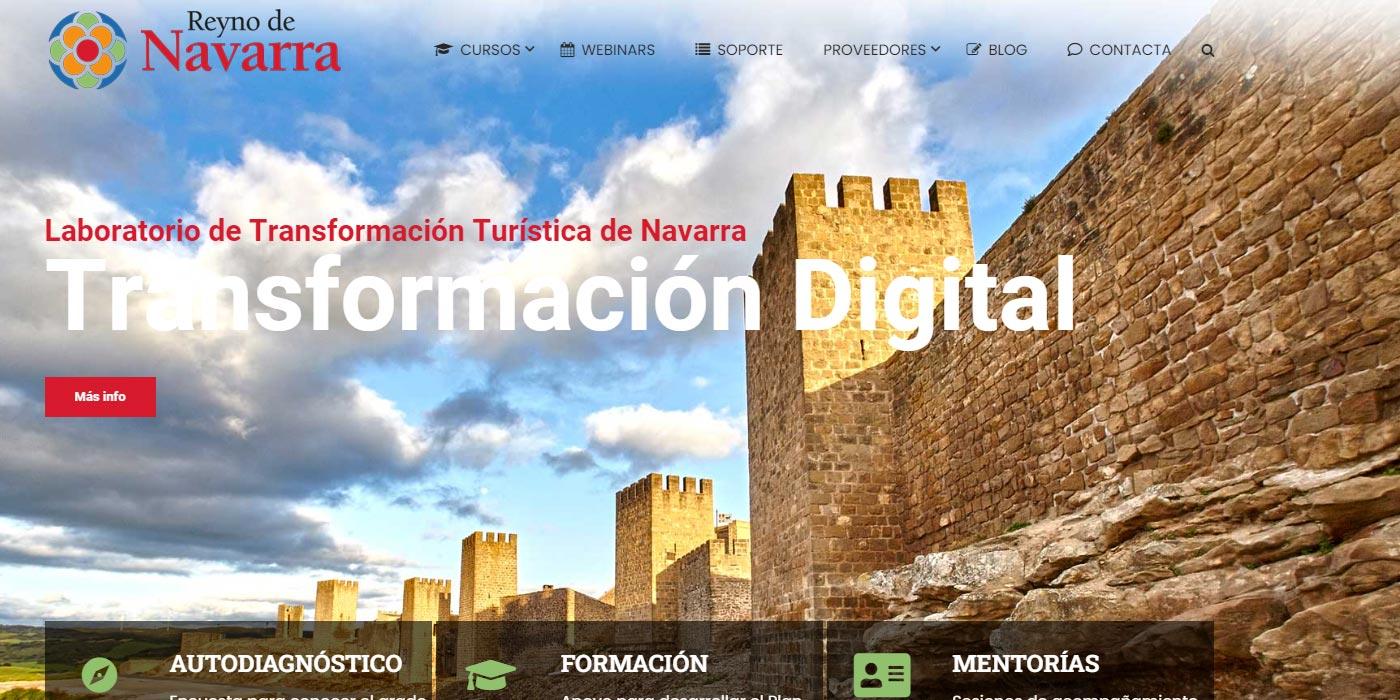 Laboratorio TD Turismo del Gobierno de Navarra, coordinado por NASERTIC.